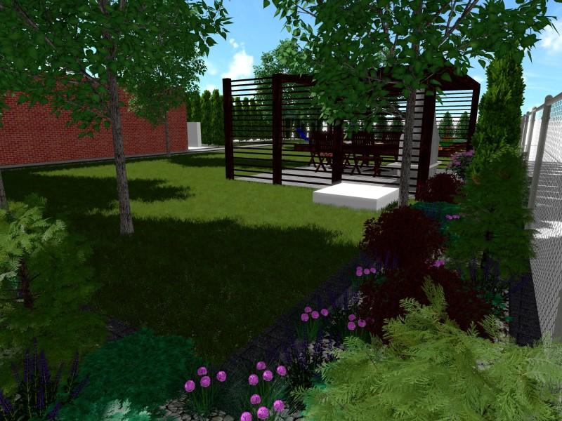 Projekt ogrodu przydomowego z warzywnikiem