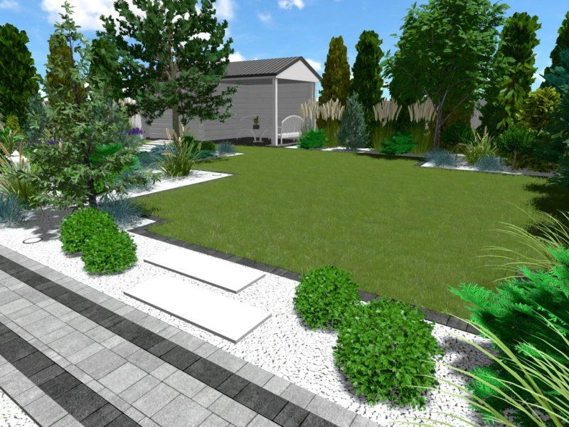 Kameralny ogród w mieście